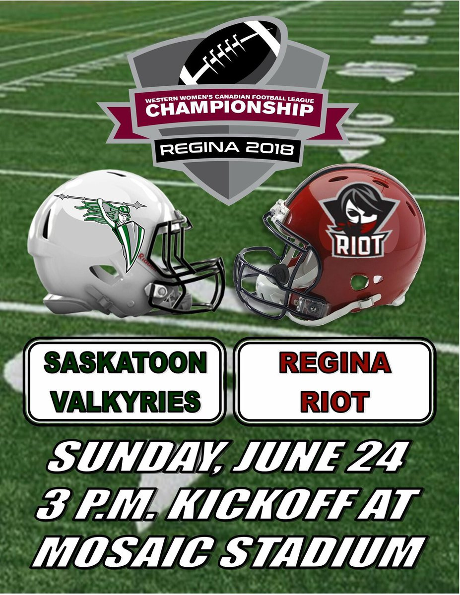 Western Women S Canadian Football League On Twitter Two Days To Go