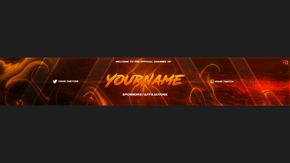 Fortnite Banner And Logo Twitch And Youtube Templates