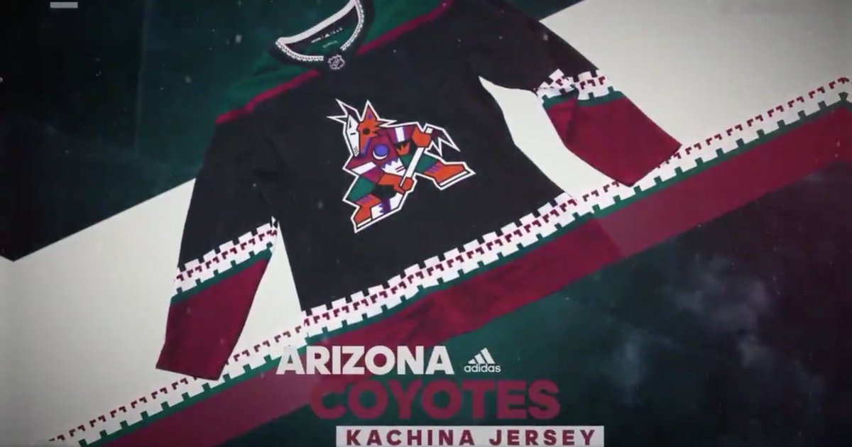 VIDEO: The @ArizonaCoyotes are going old school next season. 🌵🔥 👀 https://t.co/EOrJ0zcjMy