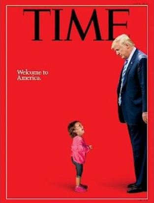 Remember this #Time cover that went viral earlier this week? Turns out the kid wasn't one of the 2,300 children seperated from their families >> https://t.co/Z8vBN1AeOw