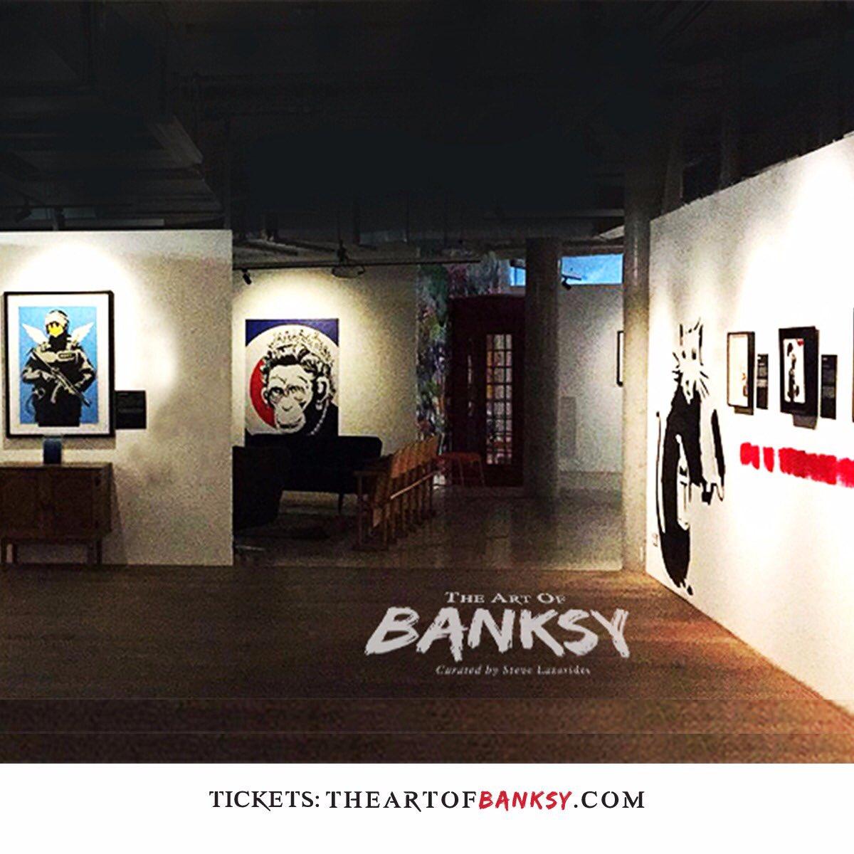 Exhibition Art Of Banksy Twitter On The oWrCxeBQd