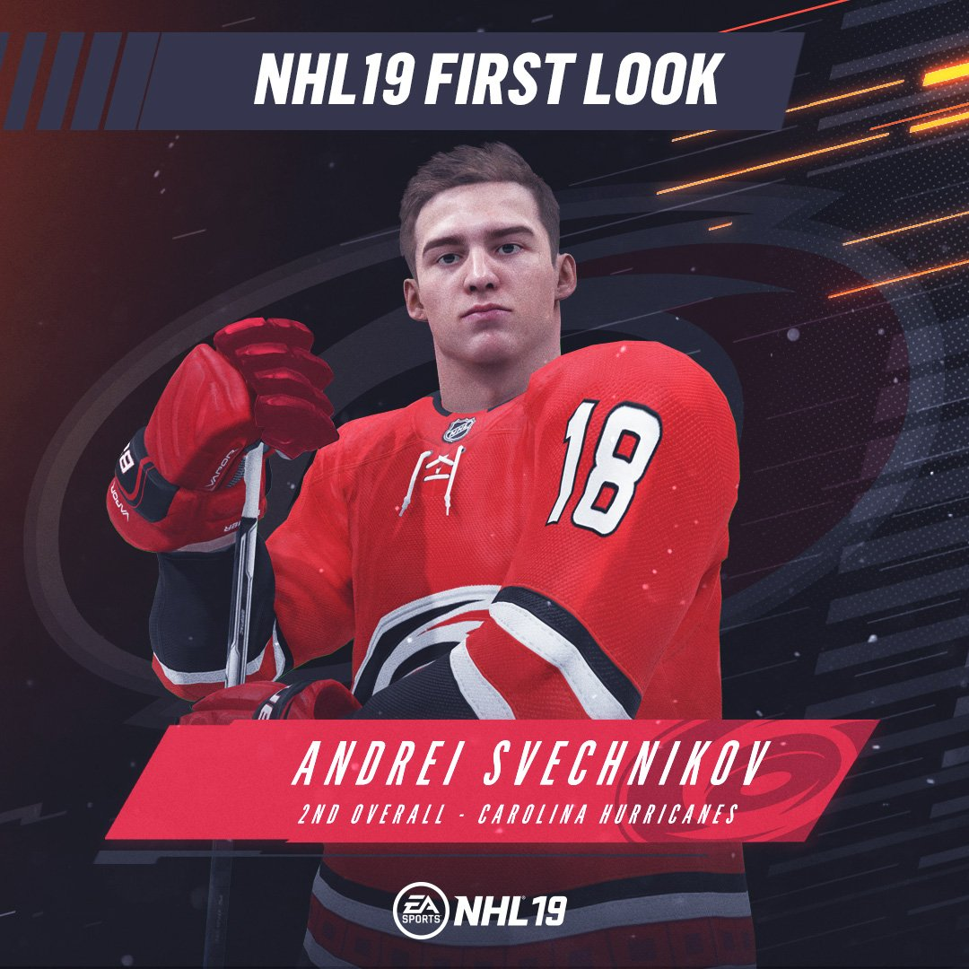 881081e4fe0 the 2nd overall pick at the nhldraft is andrei svechnikov nhl19