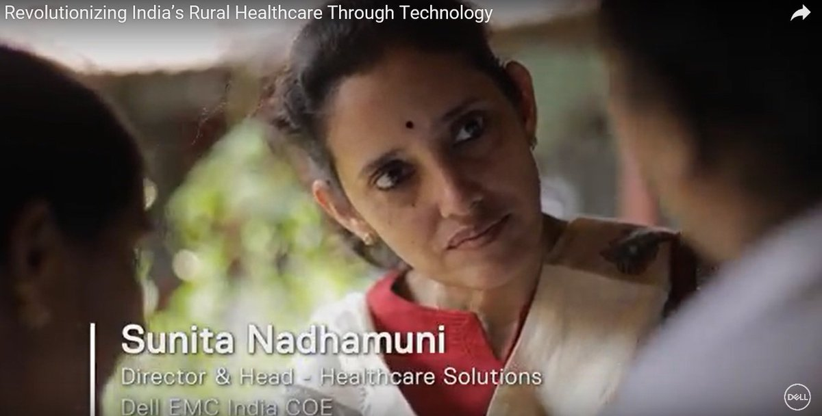 Revolutionizing India's Rural #Healthcare Through #Technology - see how Dell partnered with the Government of India and Tata Trusts to develop Digital Lifecare https://t.co/B2xSBA3uN3 #TransformHIT
