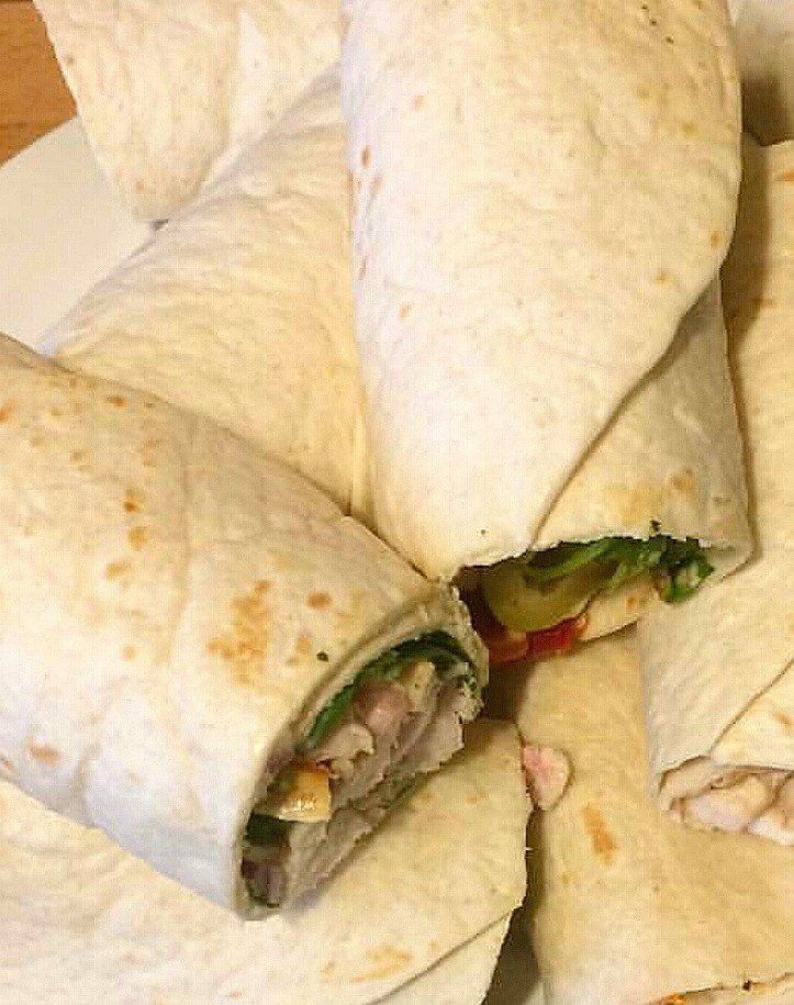 Chicken Wraps Sandwich     Recipe➡️ https://t.co/vV0ql6JwU8 https://t.co/ycQYxinm7f