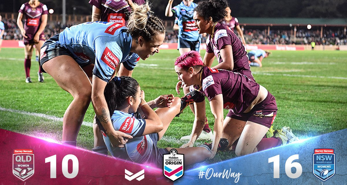 #TVratings Friday #RugbyLeague #WWOS #Nine Women's State Of Origin 370k (Syd 197k Bri 146k) Subscribe to free daily TV ratings and analysis: https://t.co/v5SFWA0Bht