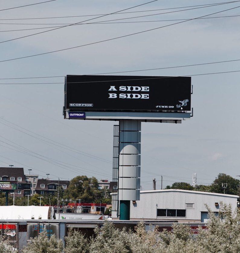 New billboards around Toronto feature an interesting clue about Drakes Scorpion album. bit.ly/2tuKykm
