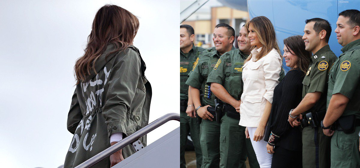 Here's The Powerful Thing Melania Was Doing While Media Was Freaking Out Over Her Jacket https://t.co/MkIy3jOSFk https://t.co/FKIxro9NGR