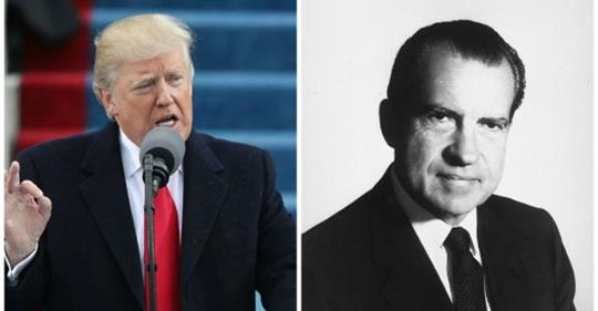 Poll: Support for impeaching Trump is similar to what it was for Nixon before he resigned https://t.co/GVqwR9v50g