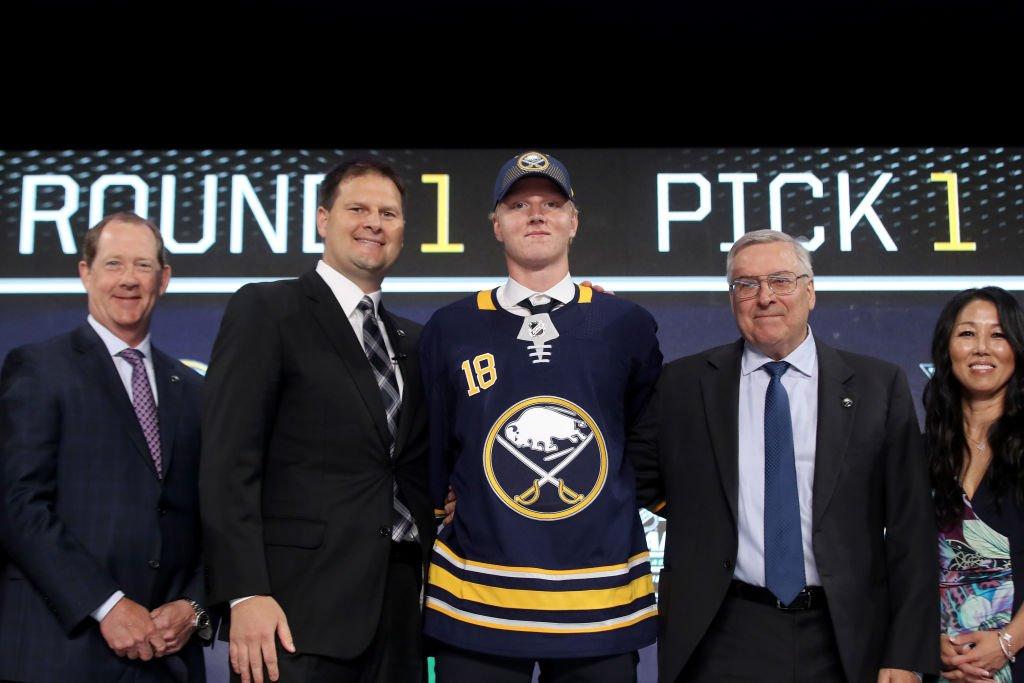 Top 3 #NHLDraft 1. Buffalo Sabres: Rasmus Dahlin 2. Carolina Hurricanes: Andrei Svechnikov 3. Montreal Canadiens: Jesperi Kotkaniemi