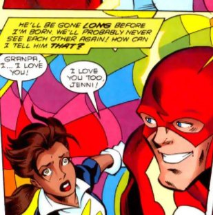 Jenni and Barry (from Legionnaires) + Jenni and Iris (Impulse, issue 1) #WestAllen #TheFlash<br>http://pic.twitter.com/gkbeXL25jC