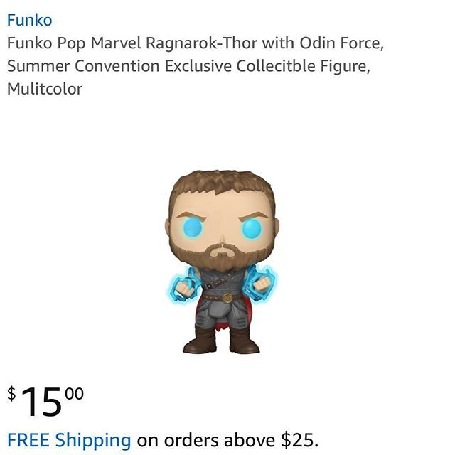 Disfunko On Twitter Sdcc Exclusive Thor With Odin Force Is