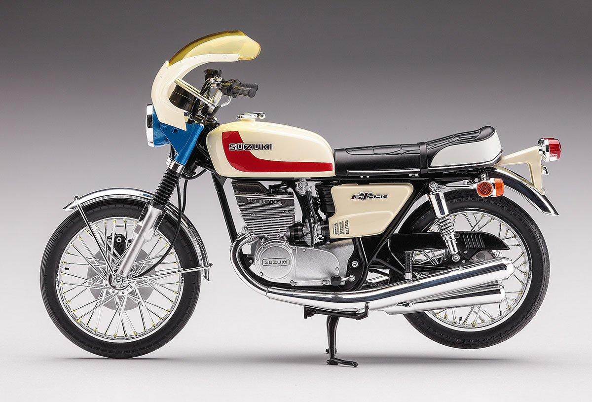 ハセガワ 仮面ライダー 本郷猛のバイク スズキ GT380 B プラモデル SP377に関する画像8