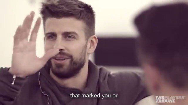 One coach changed @lewy_official's mind about football. He shares with @3gerardpique.   Full Piqué+ interview:  @Kosmos_Studios