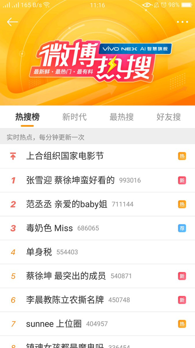 180623 Fan ChengCheng dear Baby older sister trending topic no 2 on weibo #FanChengCheng #KeepRunning #AngelaBaby https://t.co/TCcch7TmXU