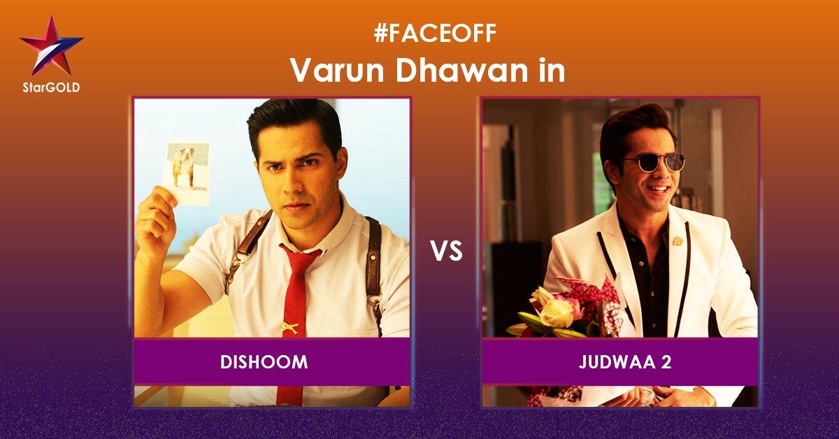 Varun Dhawan ka kaunsa avatar aapko hai jyaada pasand? #FaceOff @Varun_dvn