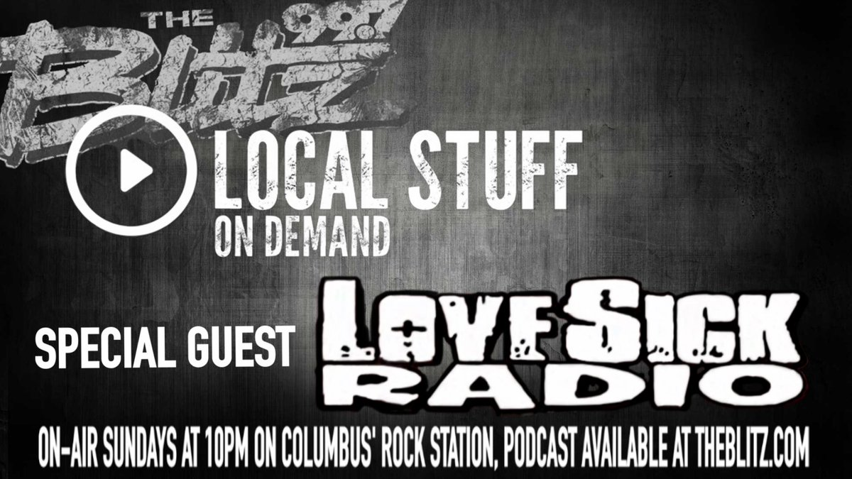 Episode 37 is now available at theblitz.com wsg @lovesickradio. This week features @millerhunks, #enablingcain, #lave, and @TheVimsMusic. #localstuff #localmusic
