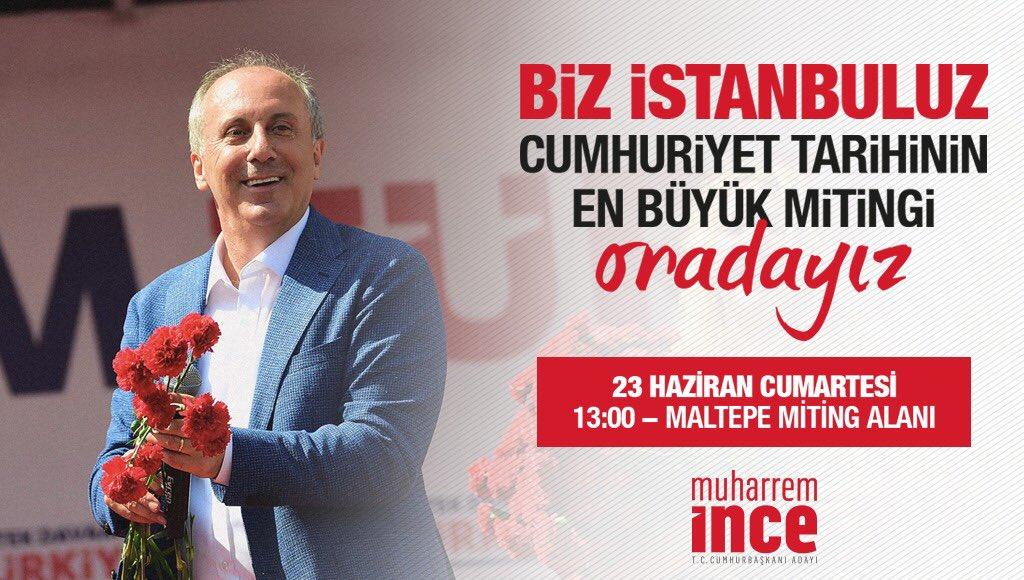 Umutlarımızı yeniden yeşertmek için, büyük güne hazır mısın İstanbul?