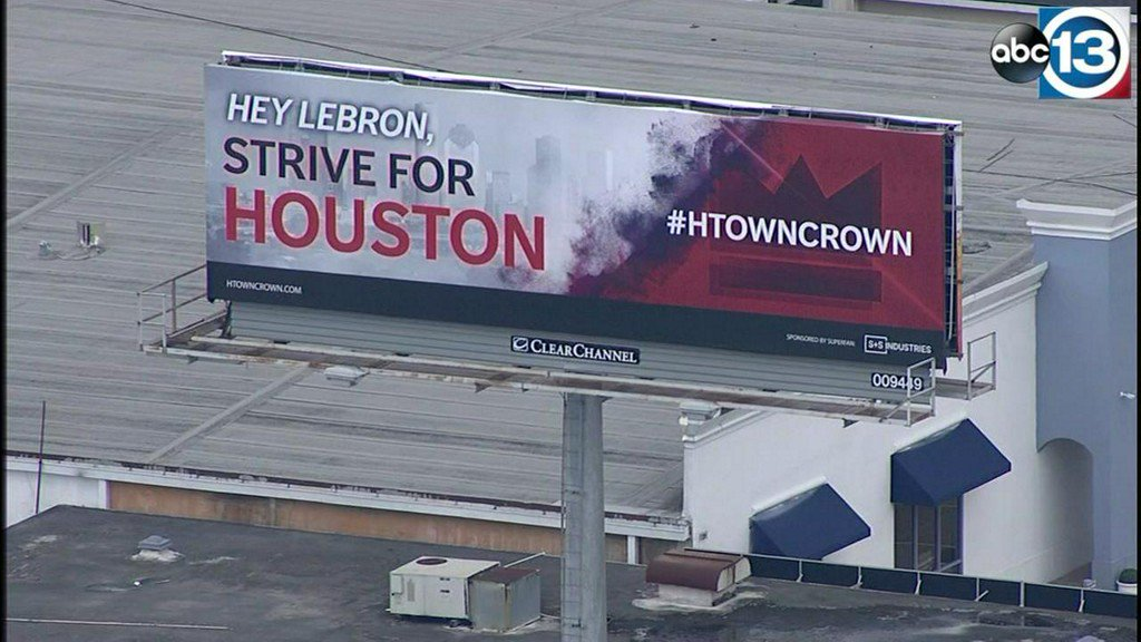 5c96c8713516 houston billboards pop up to land lebron james with rockets