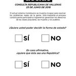 #VallekasDecide23J Twitter Photo