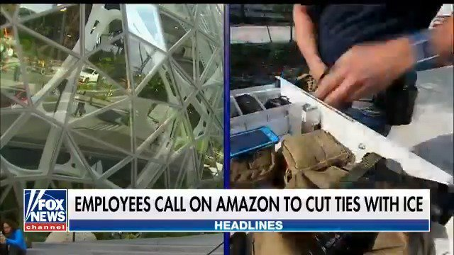 Employees call on Amazon to cut ties with ICE