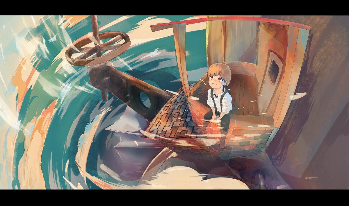 Howl&#39;s Moving Castle #original #おとこ #anime #ジブリ #ジブリ500users入り #ファンアート #ハウルの動く城 #アニメ #オリジナル  https://www. pixiv.net/member_illust. php?mode=medium&amp;illust_id=69366482 &nbsp; … <br>http://pic.twitter.com/9YyBQdJAHS