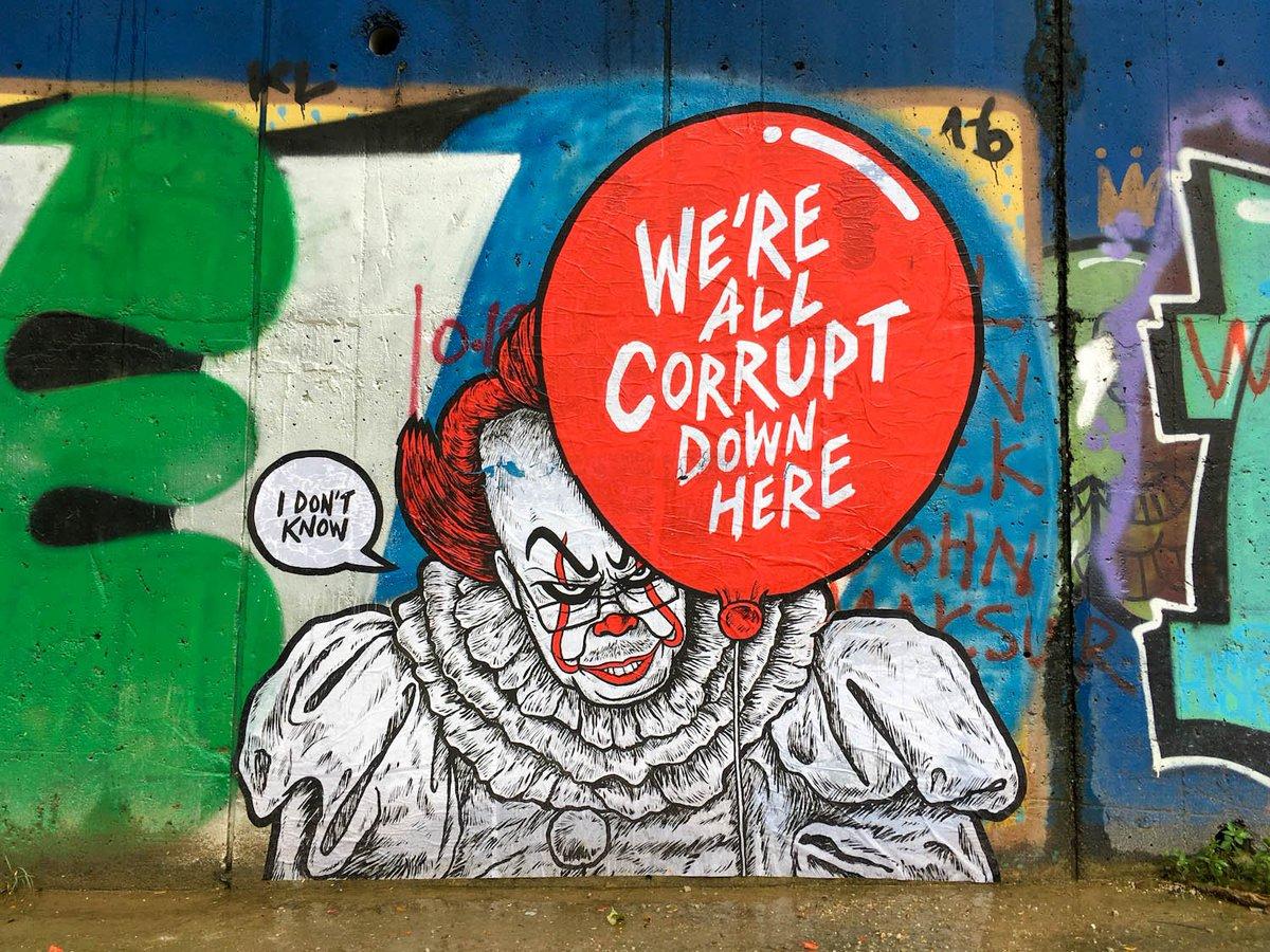 Fahmi Reza On Twitter Were All Corrupt Down Here Lokasi Poster Kuala Lumpur