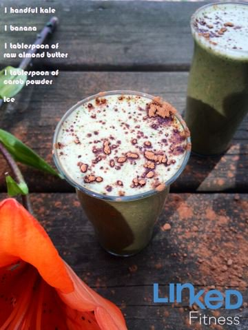 A #delicious smoothie that is packed full of #energy! #recipe #tasty #carob #kale #superfood #nutrition #workout https://t.co/P2UV75WY8A