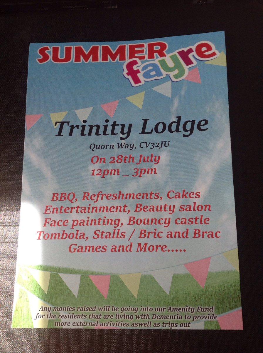 Trinity Lodge Twitter post