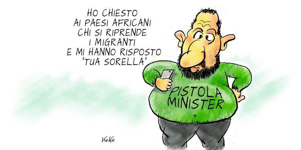 #Salvini ministro degli Interni.  http:// www.kokonews.eu#OraoMaiPiu #Saviano #secondaprova #Grecia #Appendino #redditodicittadinanza #FattoQuotidiano #Repubblica @sole24ore @pdnetwork #23giugno  - Ukustom