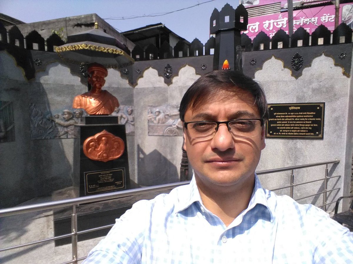 Anniversary of the assassination of commissioner Rand by #Chapekar brothers in Pune,  1897. This marks the start of a new revolutionary movement that lasted till 1947. Few weeks ago,  I visited the memorial at the spot where the attack took place.<br>http://pic.twitter.com/X23ZjQjPCm