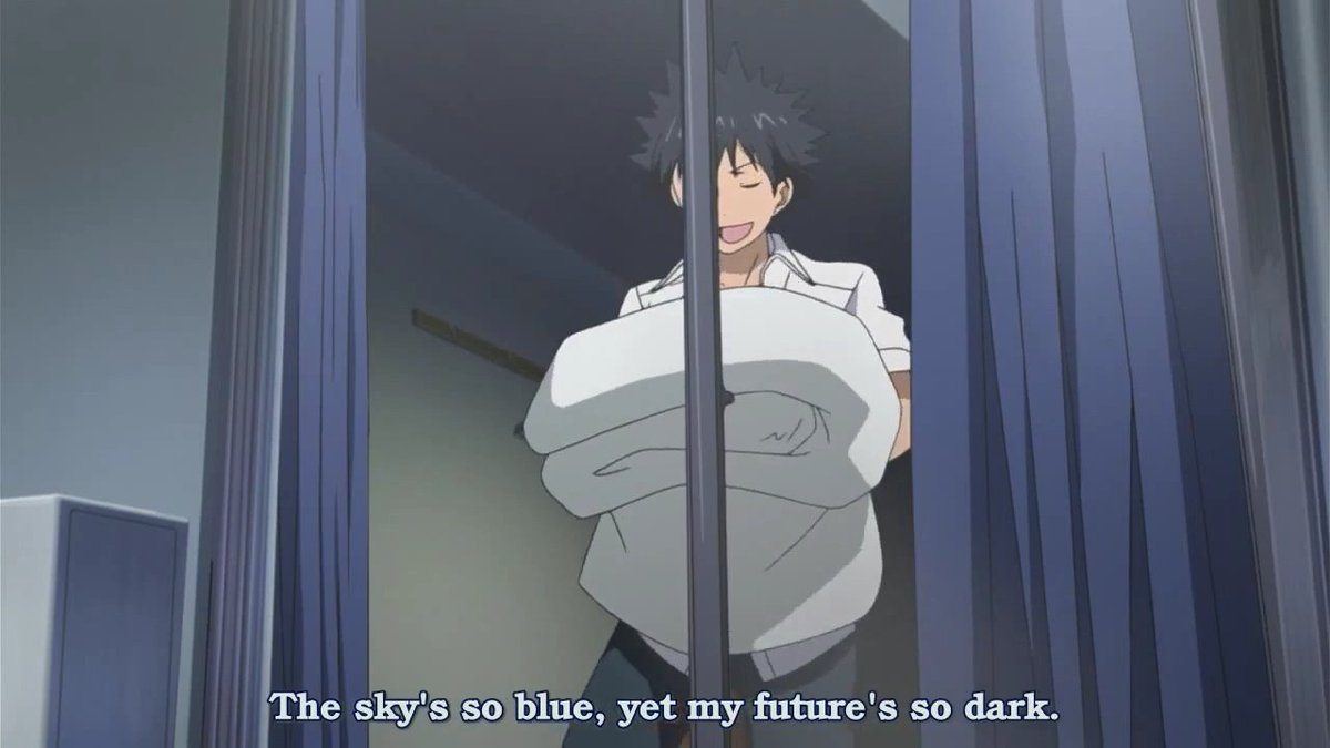 I will never run out of random anime screencaps for you. <br>http://pic.twitter.com/aUopDNmbmz
