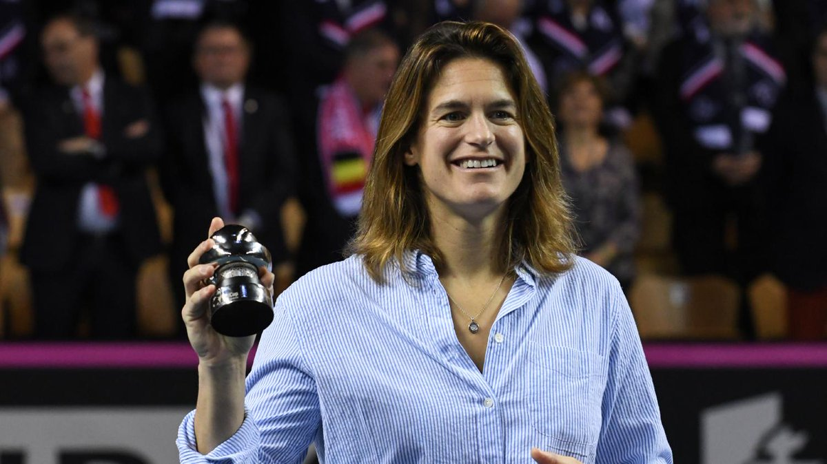 franceinfo's photo on Amélie Mauresmo