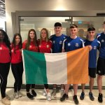 Best of luck to @ccleixlip girls & @gcmhuireag boys as they represent Ireland at #ISFWSC2018 3x3 in Serbia #greenshoots #FIBA3x3