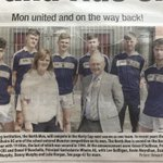 @northmoncbs and @gcmhuireag announce joint hurling team and confirm participation in the Harty Cup next season as featured in the @CorkEveningEcho  Photo: Principals Grace O'Sullivan (North Mon) and Donal O'Buachalla (AG) and students from both schools. #lechéile #monabú