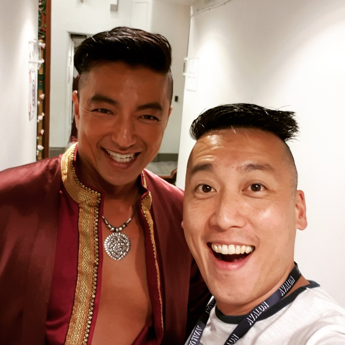 Brothers in hair!!! Takao!!! #preview #rehearsals #standbyking #work #london #actor #actorslife #workingactor #theatre #musical #westend #musicaltheatre #kingandi #rodgersandhammerstein #KingandIWestEnd #gettingtoknowyou @Takao_Osawa @LondonPalladium #takaoosawa #大沢たかお<br>http://pic.twitter.com/nKnicYuEut