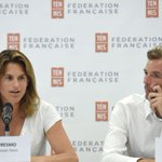 Amélie Mauresmo Twitter Photo