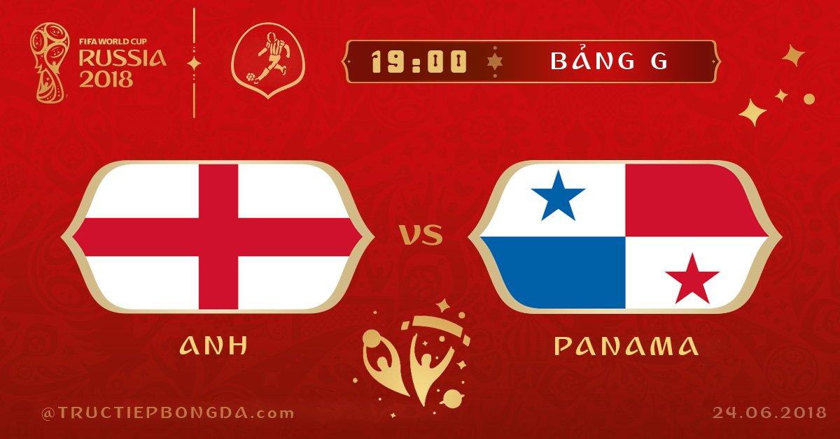Anh vs Panama