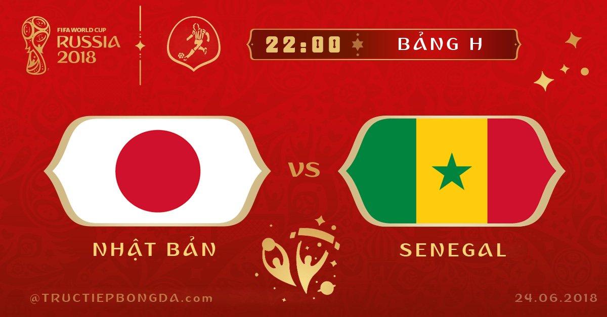Nhật Bản vs Senegal