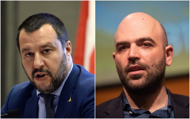 """Negare la scorta a @robertosaviano equivarrebbe a lanciare un pericoloso monito a tutta la categoria dei giornalisti. Fare inchieste da """"precari"""" è già difficile, sarebbe impossibile senza la presenza dello #Stato per la tutela della propria vita.  - Ukustom"""