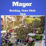 Image for the Tweet beginning: Join us tomorrow for #MeetTheMayor