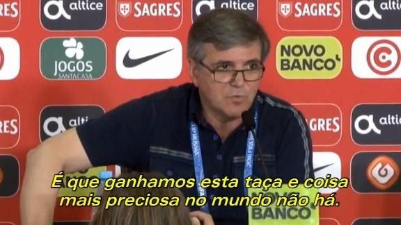Copa do Mundo: Veja um teste de som inusitado antes de entrevista coletiva de Portugal! #ESPNnaRússia   https://t.co/7TgTmKq9d0