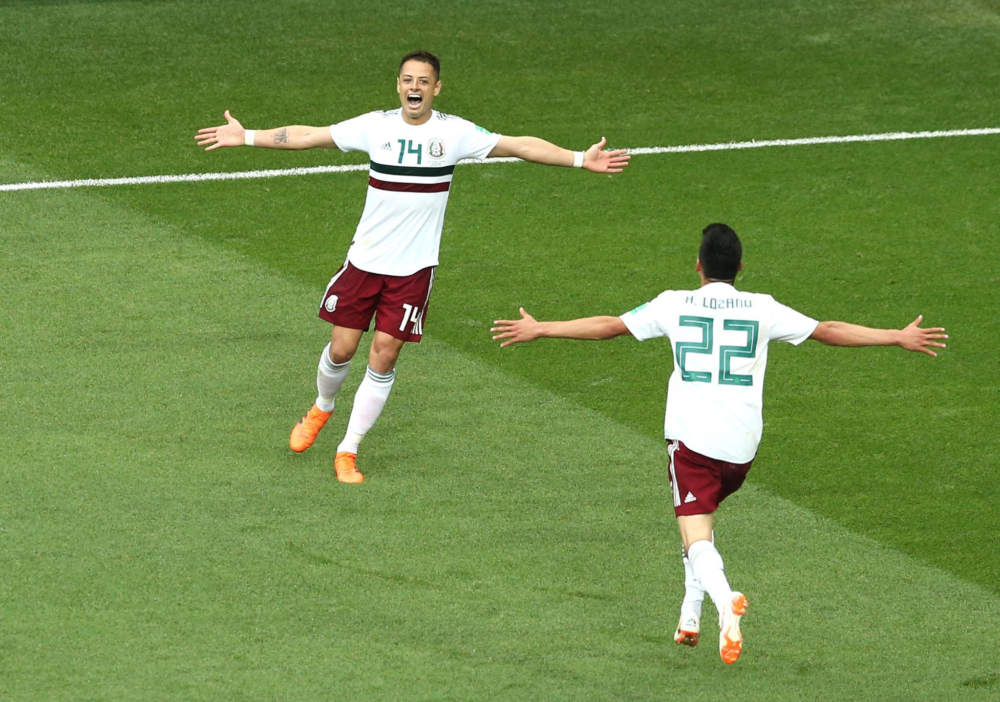 هدف المكسيك الثاني أمام كوريا
