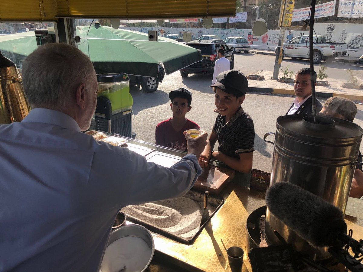 Today I met children living in one of the largest Palestinian refugee camps.  But the UN body that supports refugees is in crisis after Donald Trump's decision to withhold funding.  We must lead in ensuring these children have hope, and work to end the refugee crisis.