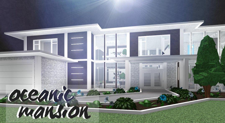 Code Rose On Twitter Bloxburg Oceanic Mansion 72k Https T
