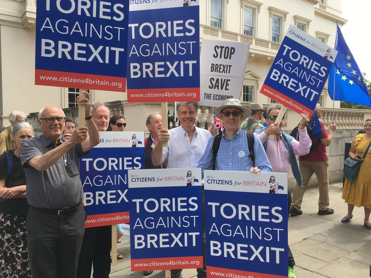 Anti-Brexit protest: estimated 100,000 march two years after vote