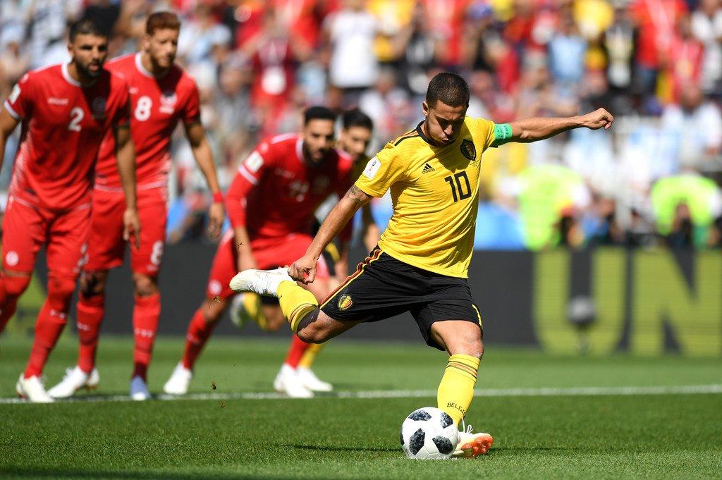هدف بلجيكا الأول في مرمى تونس