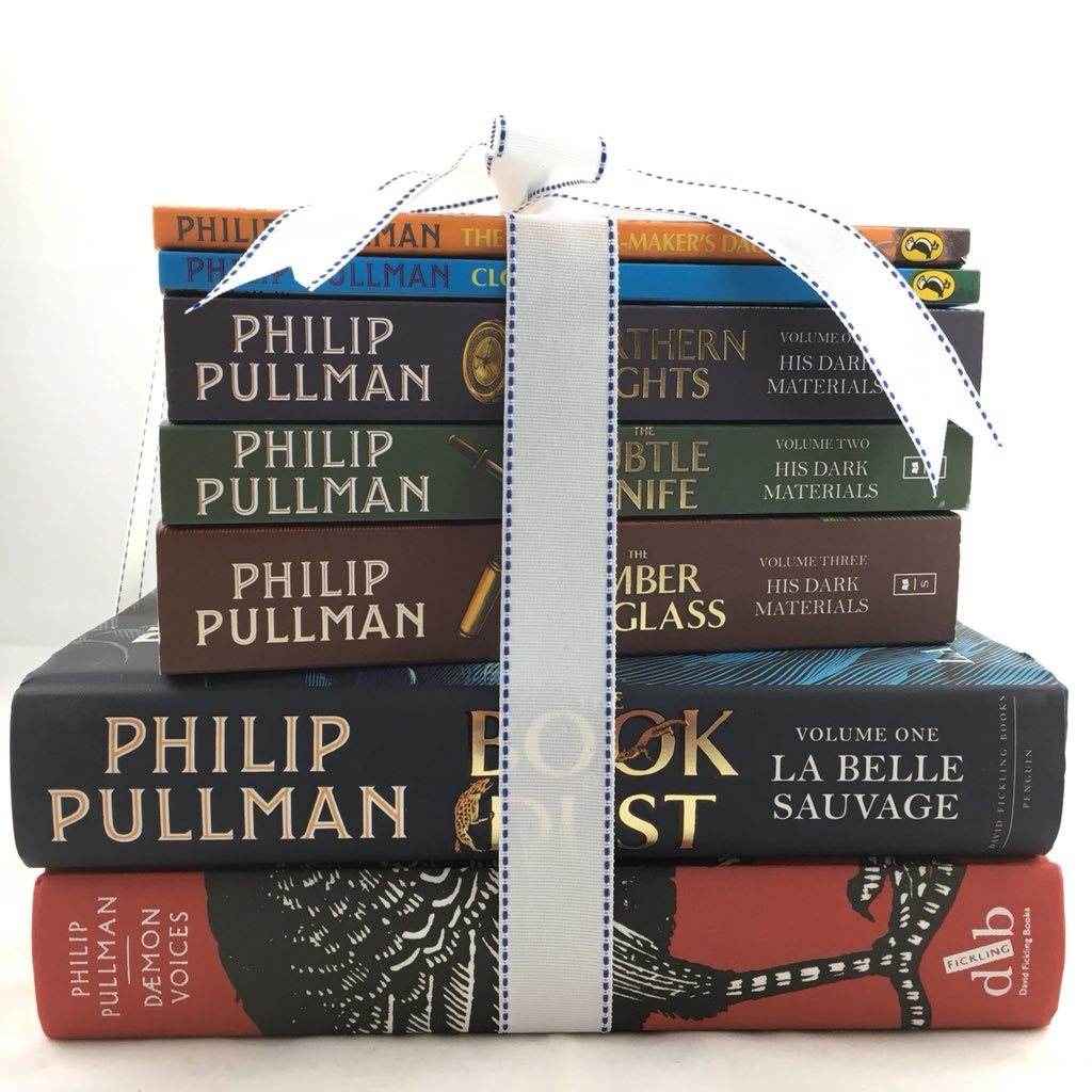 Last day of #IBW2018 today. There's still time to enter our #PhilipPullman giveaway. Pop in, buy something & you can enter the draw to win all of these. Pretty awesome, huh? We think so!