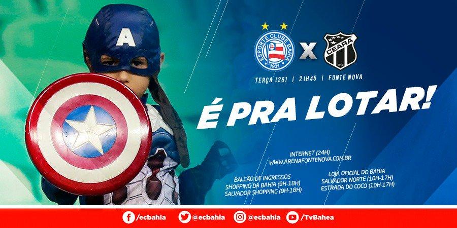 🔥🔥🔥 VALE VAGA NA FINAL! Após vencermos no Ceará, terça será na Fonte! Ingressos à venda! Tudo em https://t.co/9STuPJpo6h #BBMP