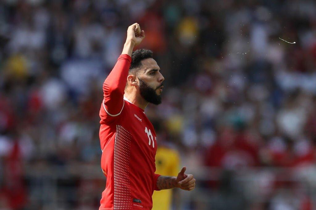 هدف تونس في مرمى بلجيكا