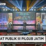 #DebatPilgubJatim Twitter Photo